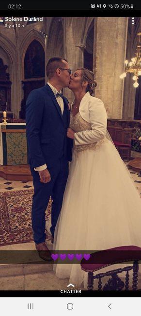 Mariés le 3 octobre 1