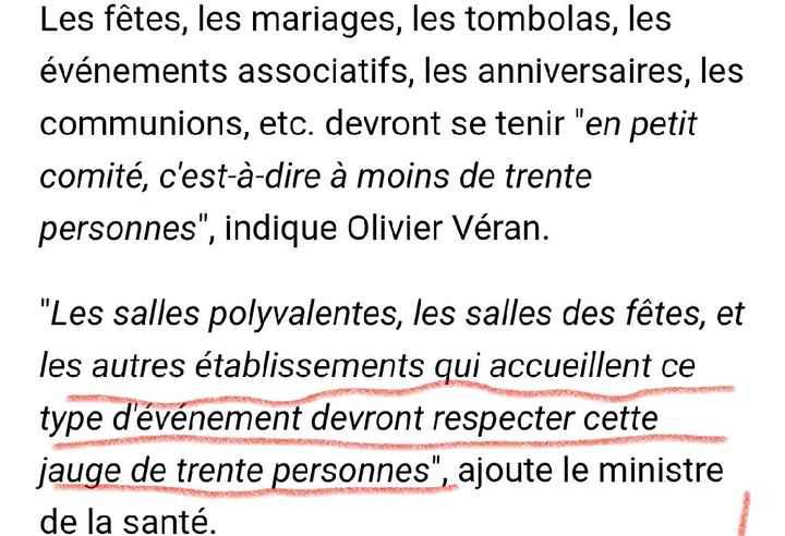 Annonces Olivier Veran 23 septembre - 1