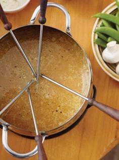 A. hmm une bonne fondue