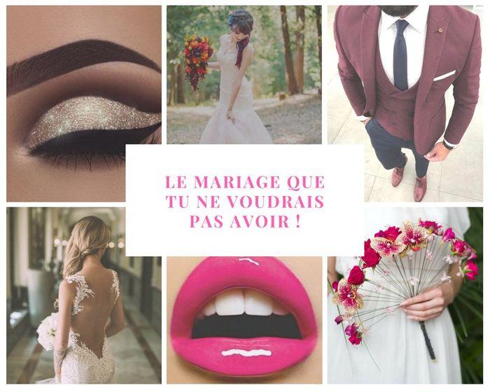 Le mariage que tu ne voudrais PAS avoir ! 😈 1