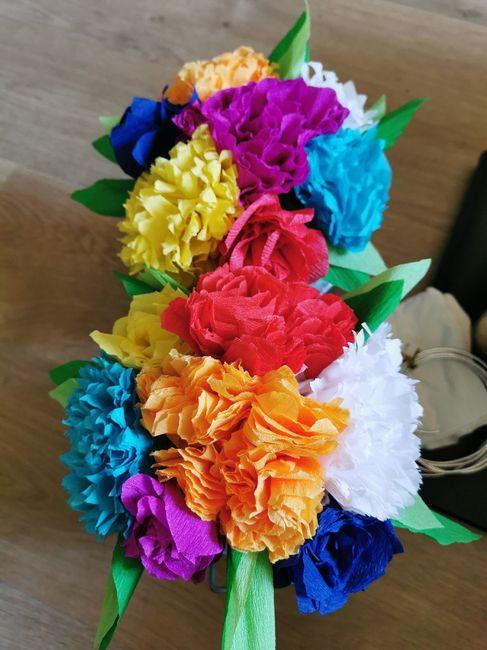 Bouquets table des enfants 2