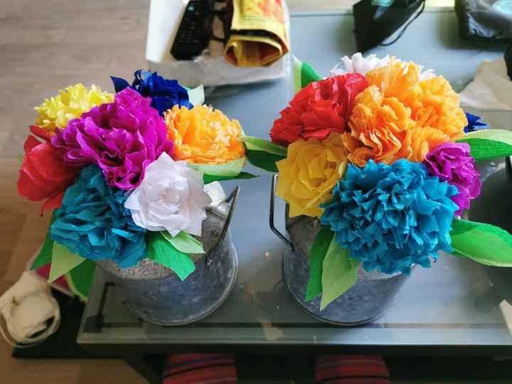 Bouquets table des enfants - 1