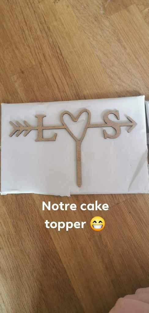 Notre cake topper ! - 1
