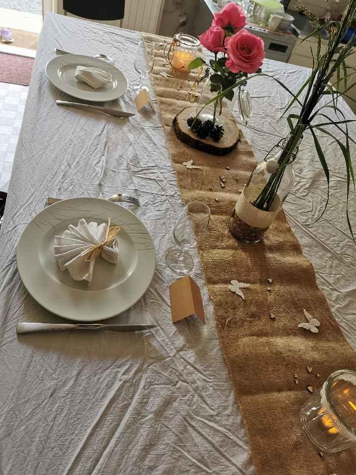 Test table (ne regardez pas la nappe 🤣🤣🤣) - 1