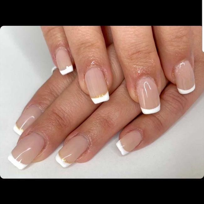 Manicure pour le jour j 1