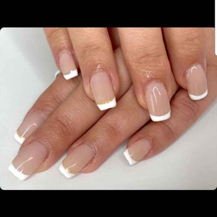 Manicure pour le jour j - 1