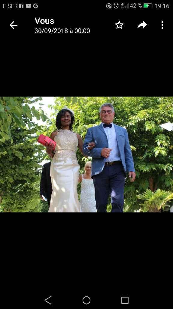 Veste blanche au mariage de la belle cousine de mon mari - 2