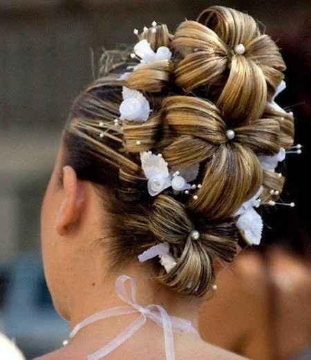 coiffure de la marier
