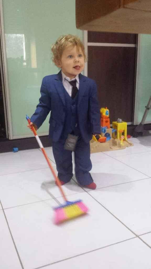 Costume des enfants recu - 1