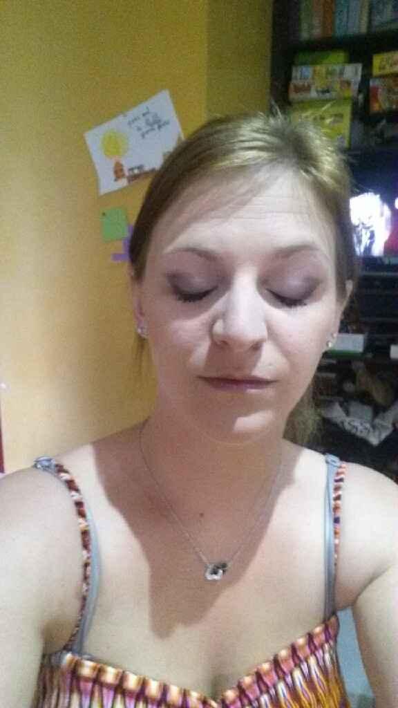 Essai maquillage yeux! - 2