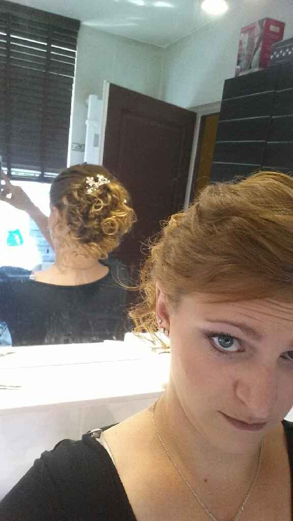 Mon essai coiffure - vos avis - 1