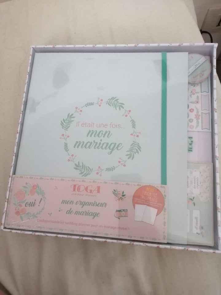 Cahier de mariage - 1