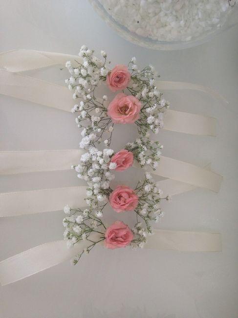 Bracelets de fleurs 5