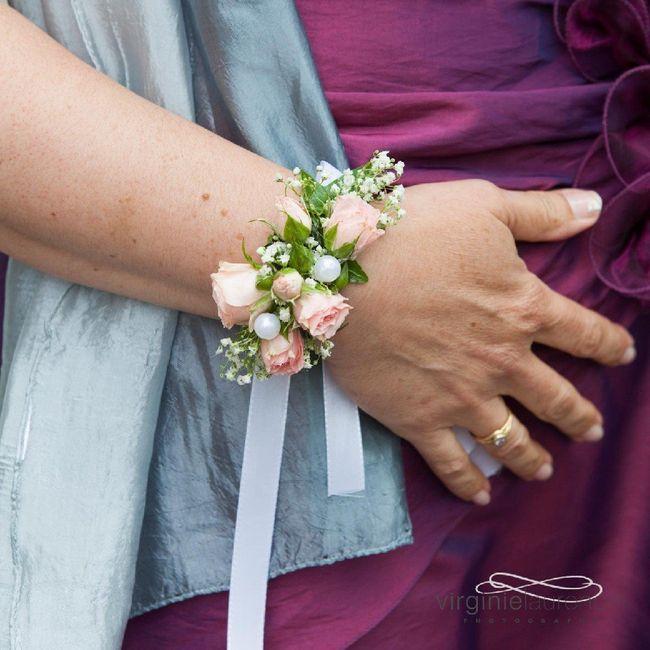 Bracelets de fleurs 6