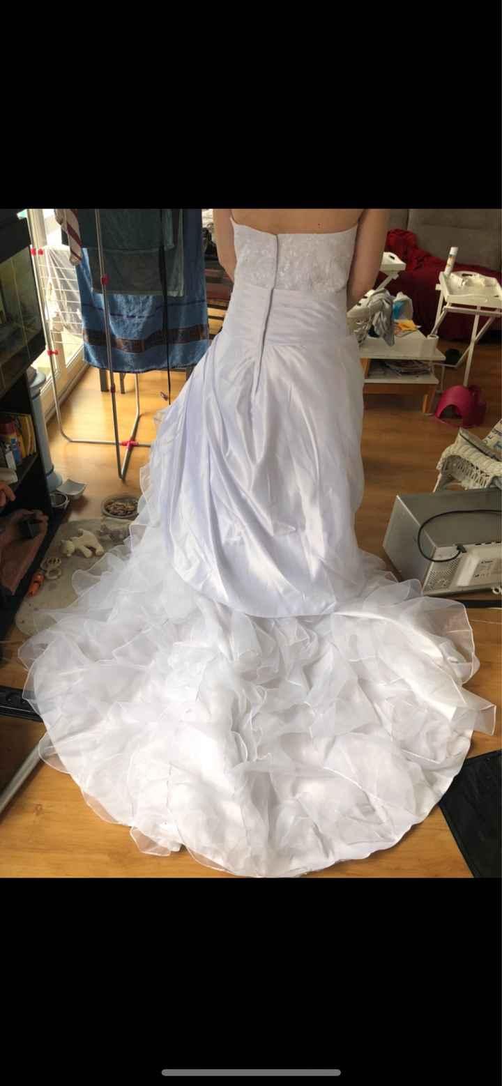 Rajouter du tulle ou de l'organza sur ma robe - 1