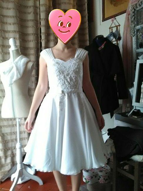 Ma robe avance - 1