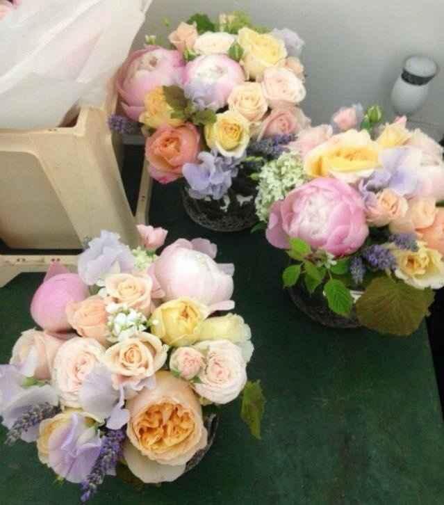 Bouquets Pastels