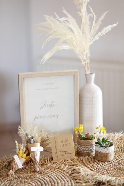 Cadeau invités - sachets de graines de fleurs 2