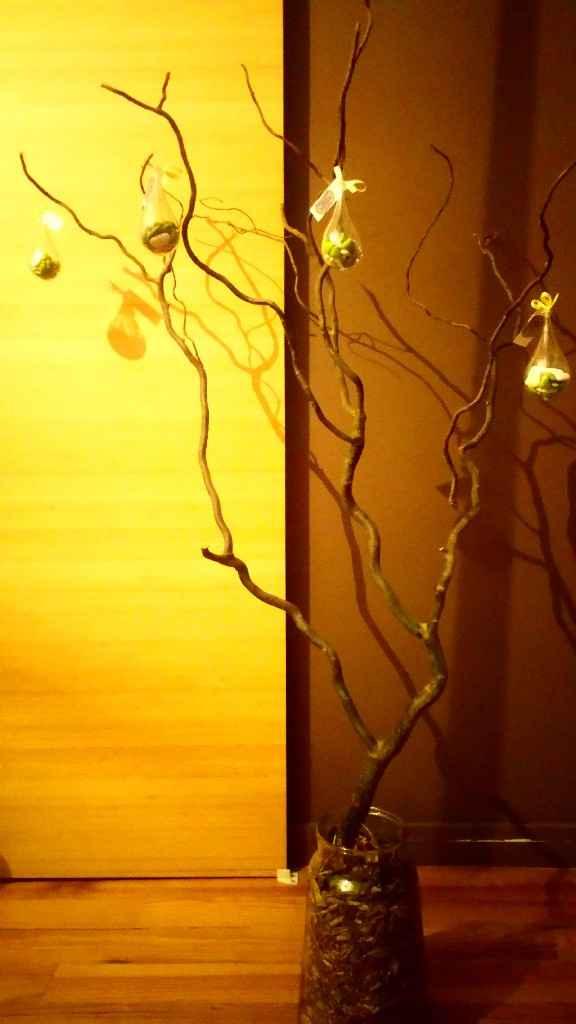Un début d'arbre. - 2