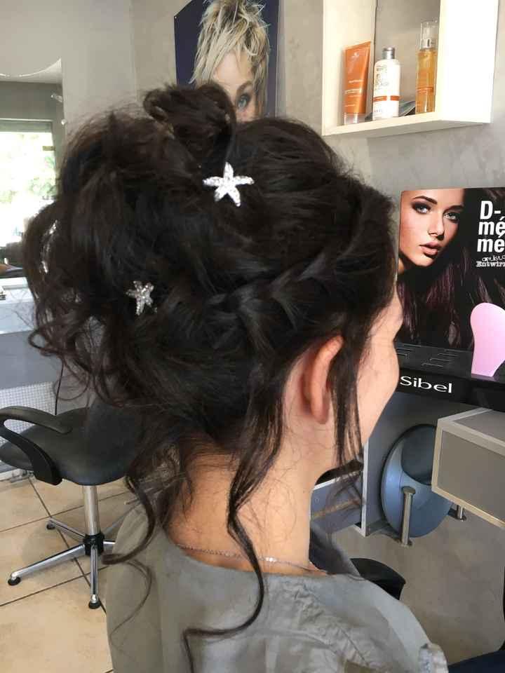 Essai coiffure maquillage - 1