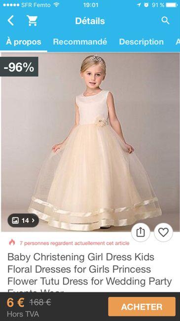 b55b9228ea8 Robe de cérémonie petite fille - Mode nuptiale - Forum Mariages.net