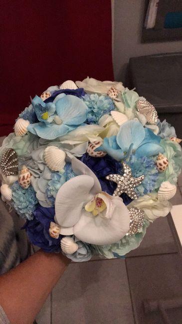 Bouquet mariée vraies ou fausses fleures? - 1