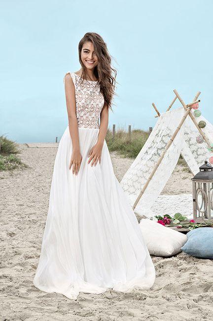 Robe de mariée classique ou...plus originale? Votez 😃 4
