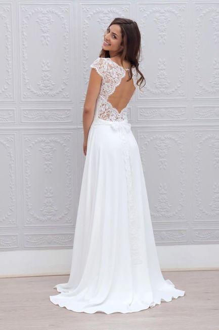 Robe de mariée classique ou...plus originale? Votez 😃 9