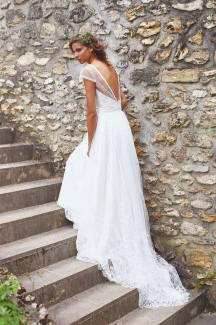 Robe de mariée classique ou...plus originale? Votez 😃 17