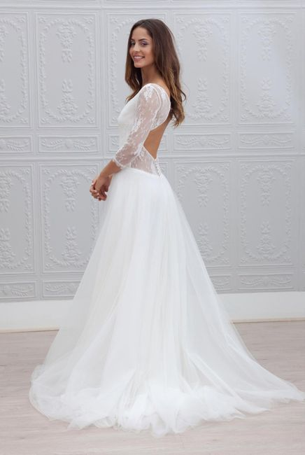 Robe de mariée classique ou...plus originale? Votez 😃 18