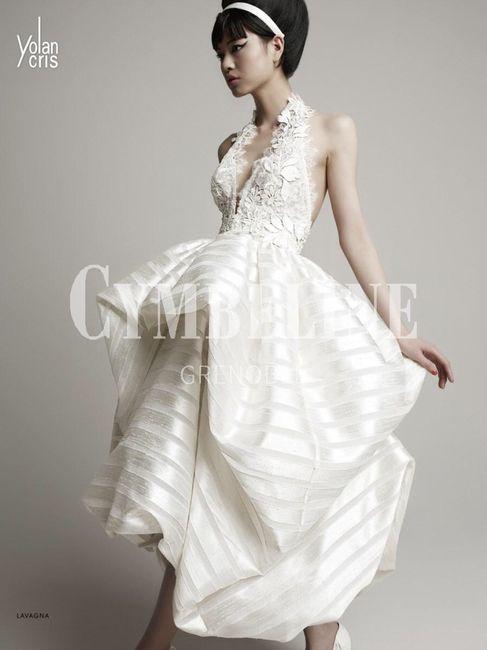 Robe de mariée classique ou...plus originale? Votez 😃 23