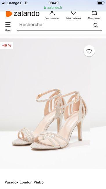 446d48a7c30a0e Avis confort chaussures - Mode nuptiale - Forum Mariages.net