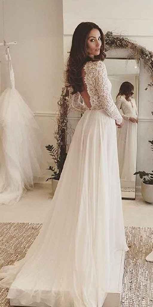 Robes de mariée dos nu ! - 2