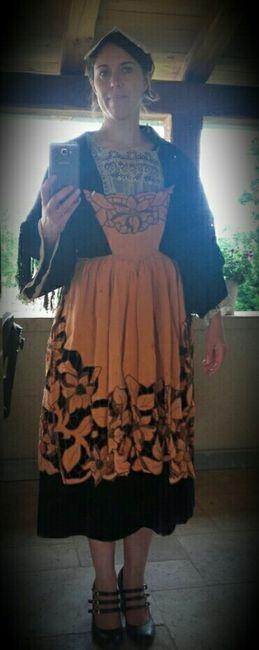 Ma robe du lendemain pas banale.... - 1