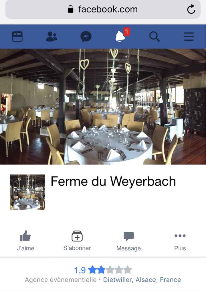 Informations Ferme weyerbach - salle cecile et theo ?  - 1