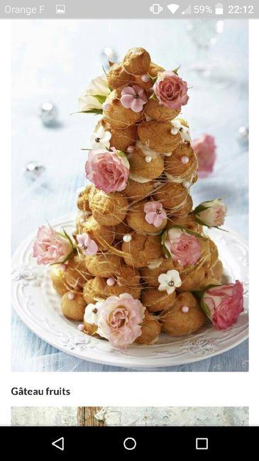 Risque ou pas : fleurs fraiches gâteau - 4