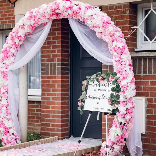 Panneaux de mariage 2