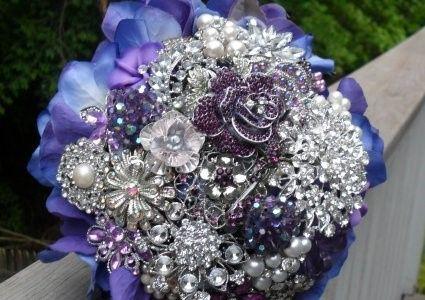bouqué de fleur bijoux