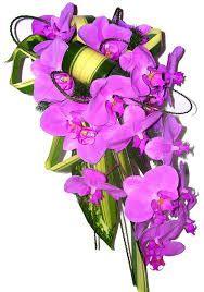 L'orchidée en bouquet 1
