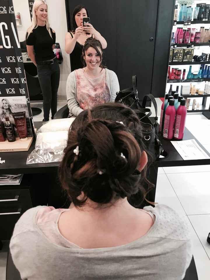 Essai coiffure & maquillage - 3