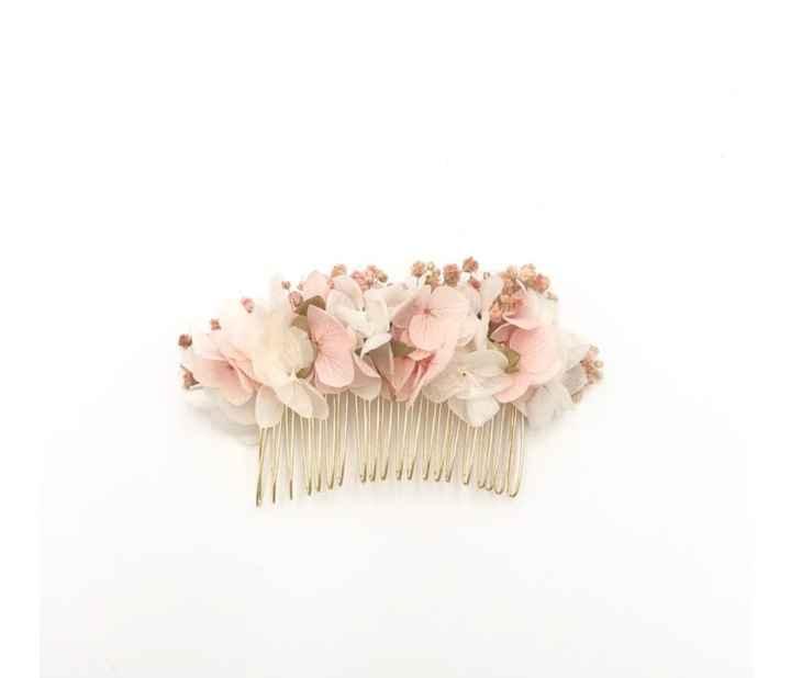 Accessoires en fleurs stabilisés 💐 - 2