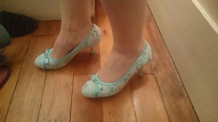 Chaussures vert menthe trouvées ^^ - 2