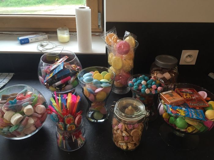 Candy bar année 80 - 1
