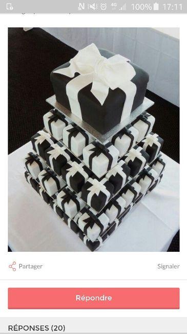 Le wedding cake : j'hallucine les prix - 2