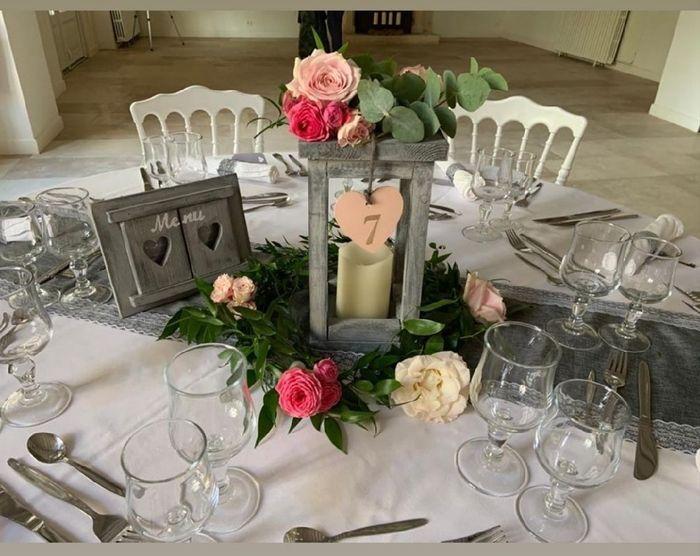 Lanterne décoration table 1