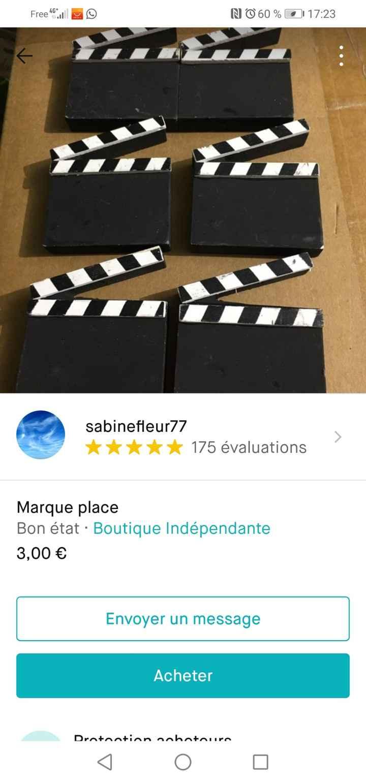 Décoration mariage cinéma - 1