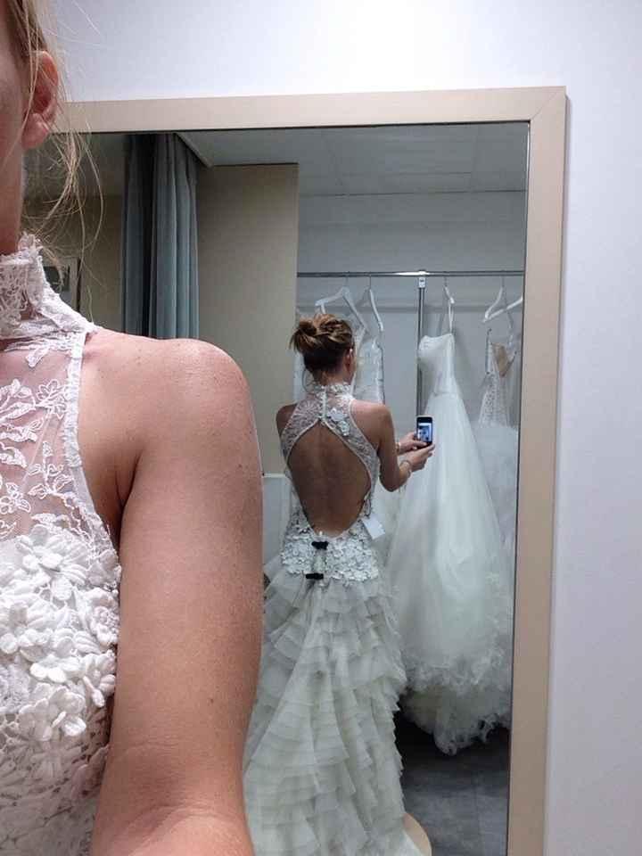 Robes de mariées dos nu, fan ou pas fan ? - 1