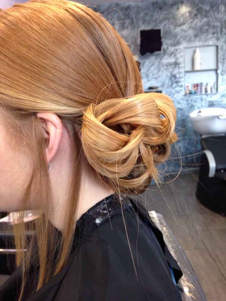 Essais coiffures - 1