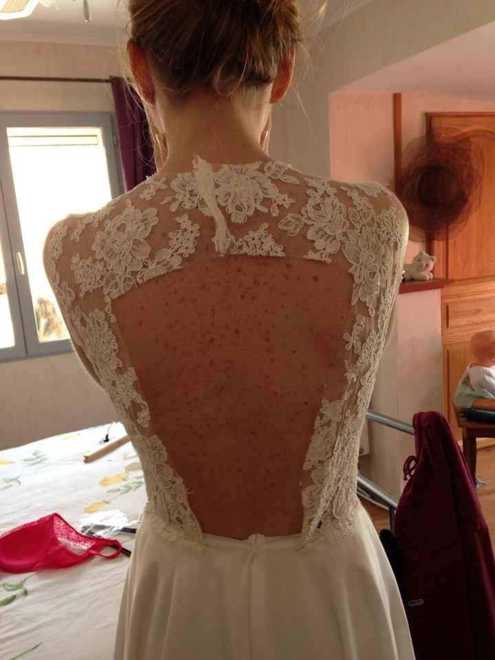 Robes de mariées dos nu, fan ou pas fan ? - 2