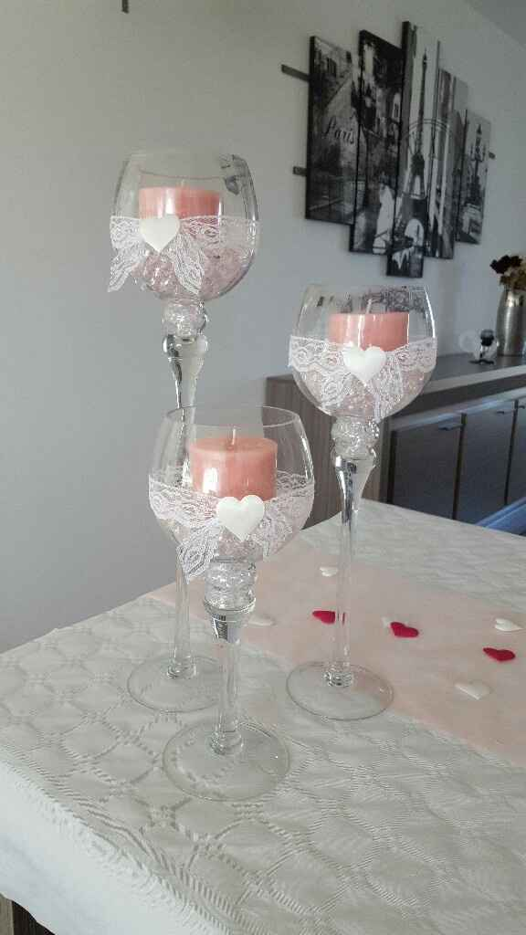 Deco de table des mariés - 1